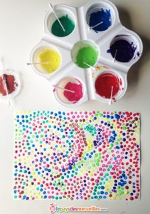 Apprentissage du pointillisme